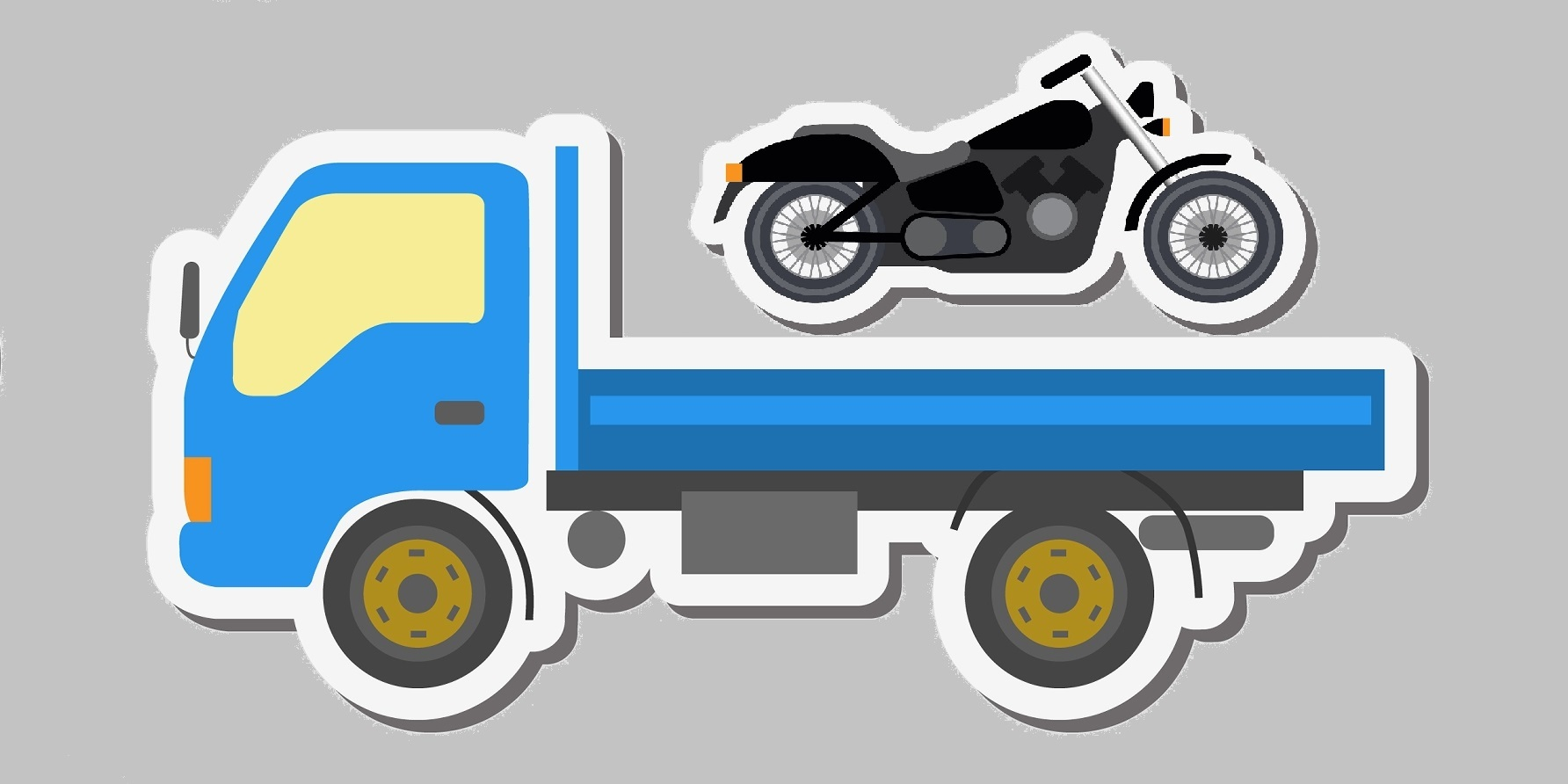 Recommended Methods for Towing a Motorcycle | Towing, Auto Parts ...